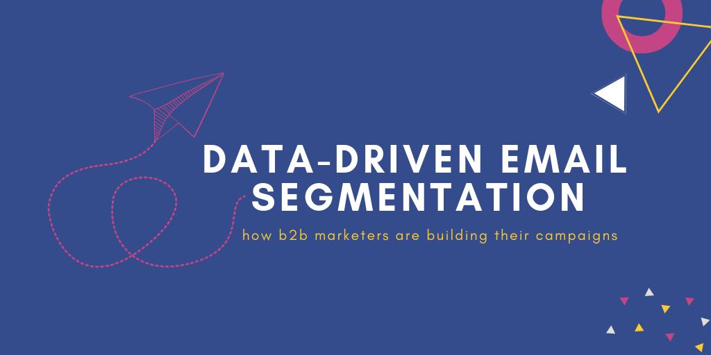 data driven segmentation